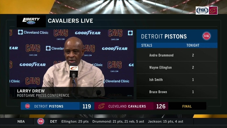 Larry Drew says Collin Sexton had the play of the game