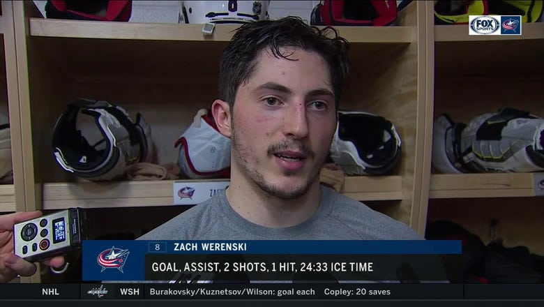 Zach Werenski doing whatever he can to help CBJ win in 'crunch time'