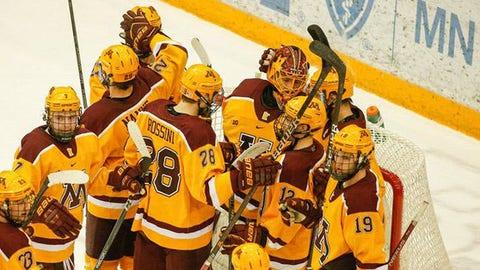 Gophers men's hockey (↑ UP)