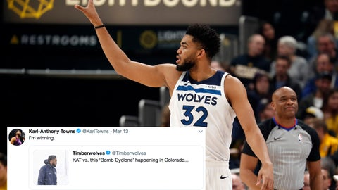 Karl-Anthony Towns, Timberwolves center