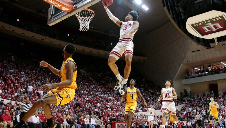 Hoosiers' season ends with 73-63 loss to Wichita State in NIT