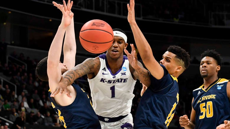Kansas State upset in first round by UC Irvine, losing 70-64