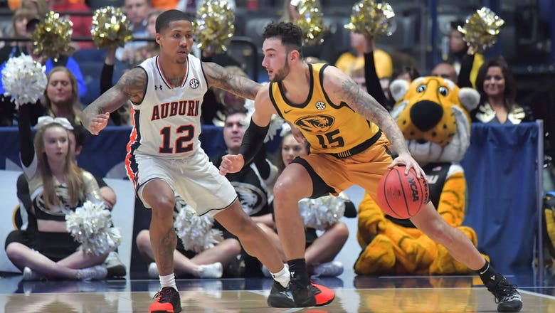 Mizzou's season ends with 81-71 loss to Auburn in SEC quarterfinals