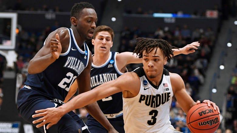 Purdue ends Villanova's bid for a repeat with 87-61 victory