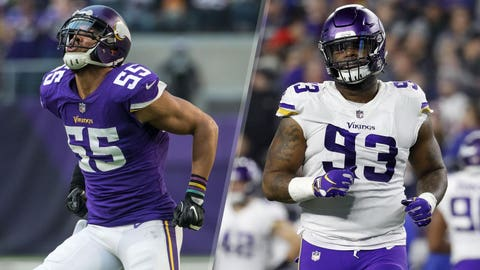 How will the Vikings replace Barr and Richardson?