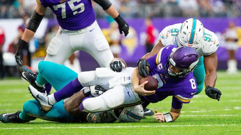 How can the offensive line improve?