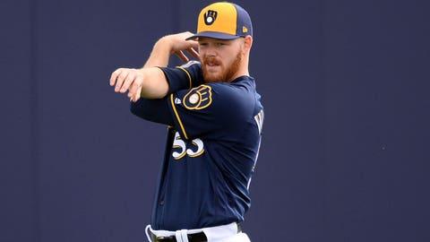 Brandon Woodruff, Brewers pitcher (↑ UP)