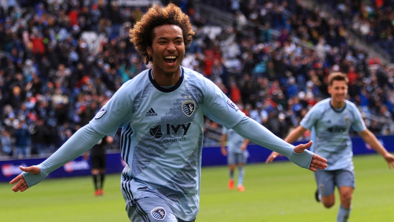 Busio ties it up late as Sporting KC plays to 2-2 draw with New York Red Bulls