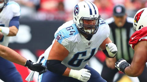 Vikings sign ex-Titan offensive lineman Josh Kline