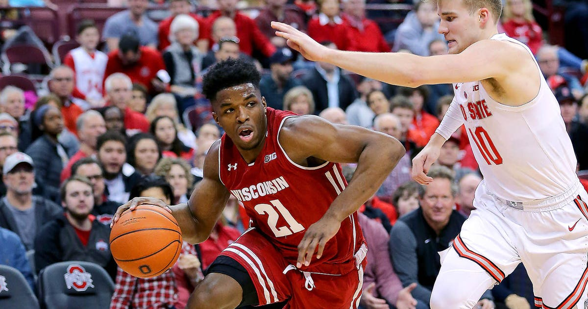 Wisconsin Badgers survive, top Ohio State in overtime 73-67