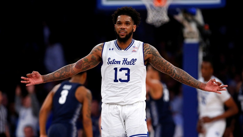Myles Powell drops 29 points in the first half setting Big East Tournament record
