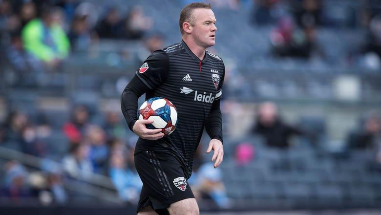 Wayne Rooney nets first MLS hat trick