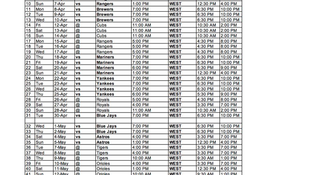 FOX Sports West announces 2019 Angels regular-season