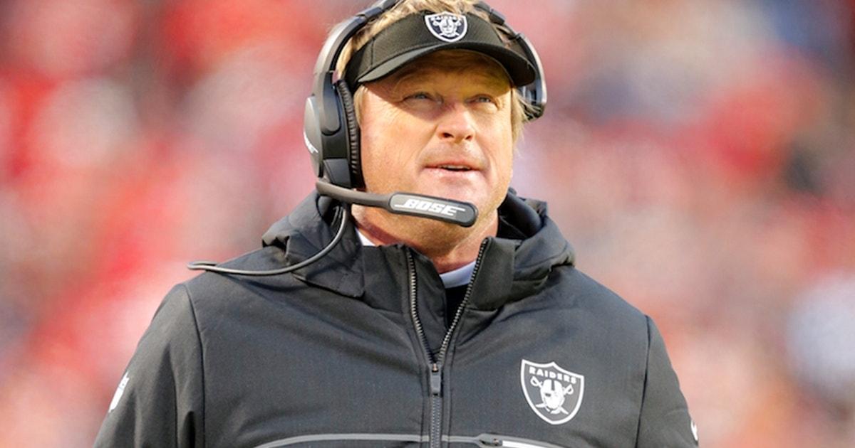 Colin Cowherd believes in the Raiders under Jon Gruden: 'Let's wait on him a little'