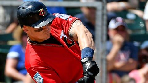 Tyler Austin, Twins first baseman (↑ UP)