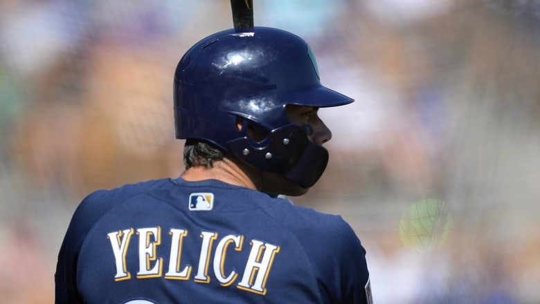 Brewers top Rangers, lose to Royals in split-squad games