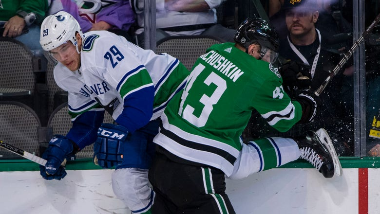 Dallas picks up a point, Canucks beat Stars 3-2 in shootout