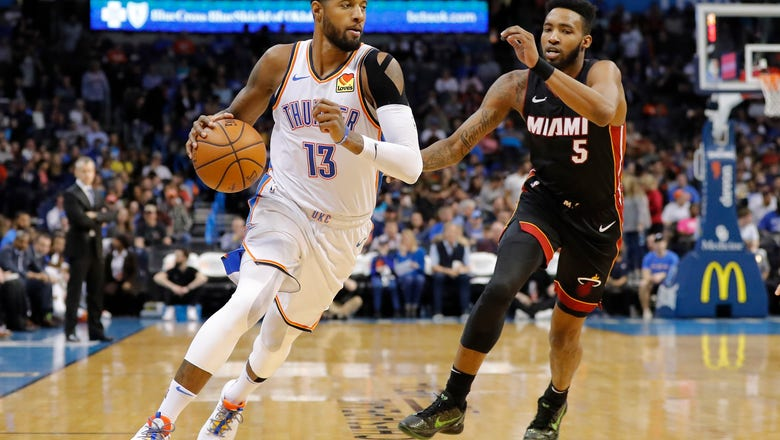 Thunder off to hot start, fall to Heat 116-107