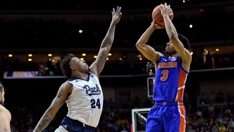 No. 10 seed Florida finishes strong to upset Nevada 70-61