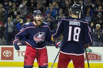 Blue Jackets jump into playoff spot with win over Canadiens