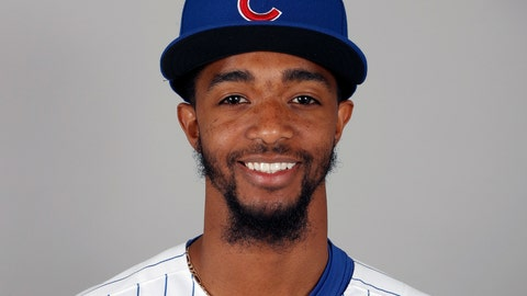 <p>               FILE - This is a 2018, file photo showing Carl Edwards Jr. of the Chicago Cubs baseball team. Major League Baseball is investigating a racist message sent to Chicago Cubs reliever Carl Edwards Jr. on social media this month. (AP Photo/Charlie Neibergall, File)             </p>