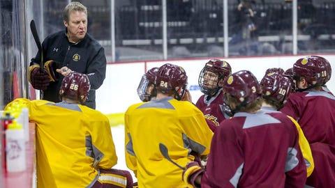 Scott Sandelin, Minnesota Duluth men's hockey coach (↑ UP)