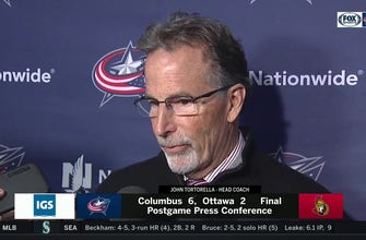 Torts on if CBJ likes challenge of Tampa Bay: 'Damn right'