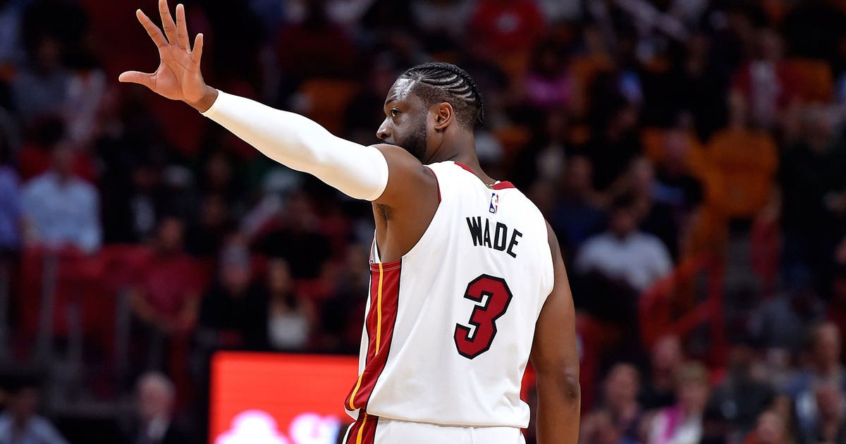 best service 18988 74c7d Dwyane Wade s final game in Miami was a night to remember   FOX Sports