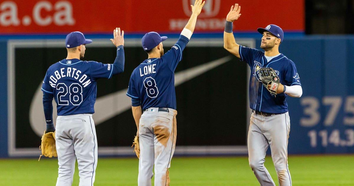 Tampa Bay Rays 8, Toronto Blue Jays 4