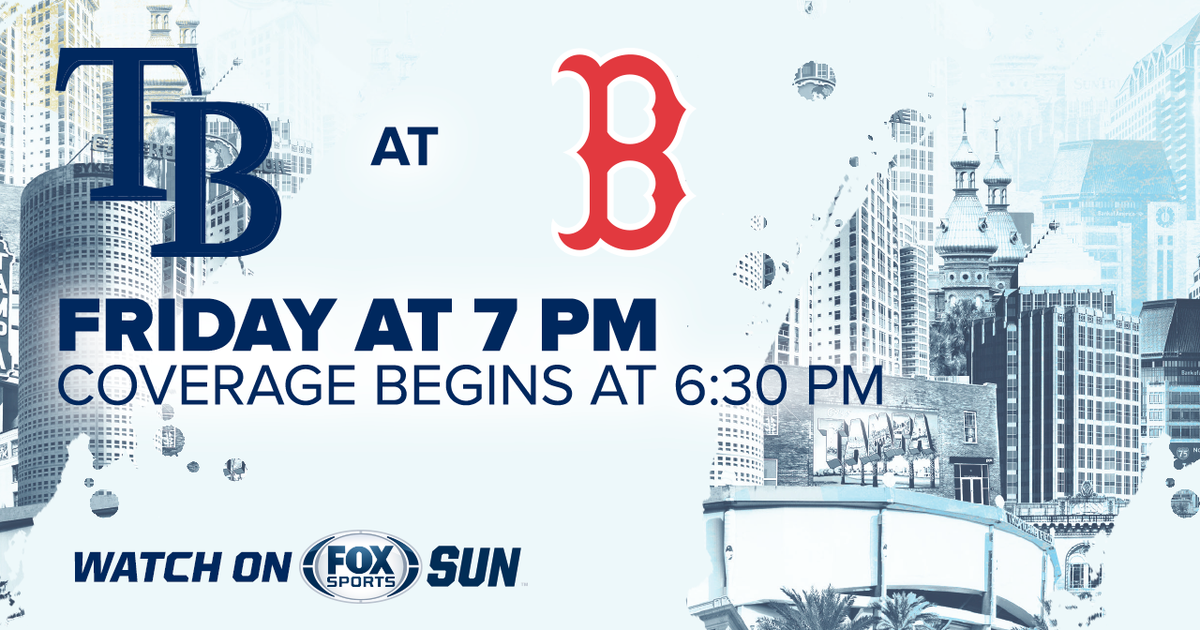 Tampa Bay Rays at Boston Red Sox game preview