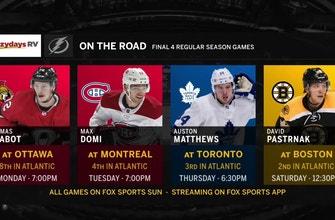 Lightning hope to bounce back Monday night in Ottawa