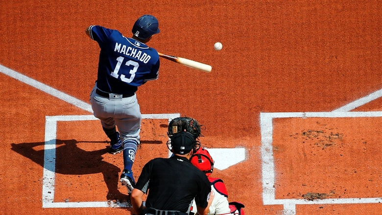 Machado, Hosmer homer in the Padres win over the Cardinals