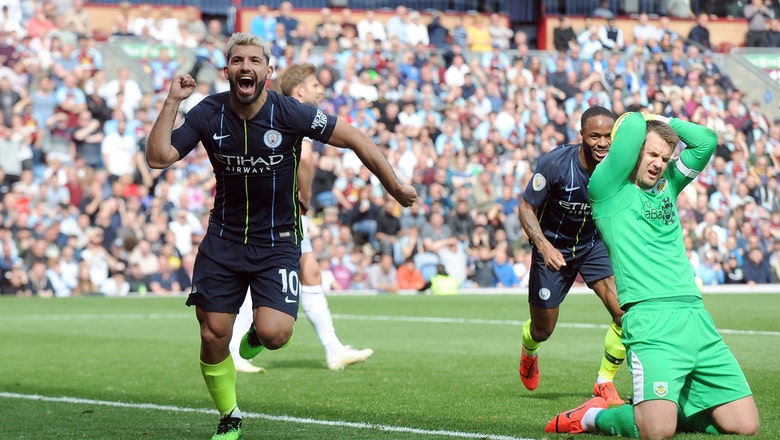 Man City beats Burnley 1-0, back on top of Premier League