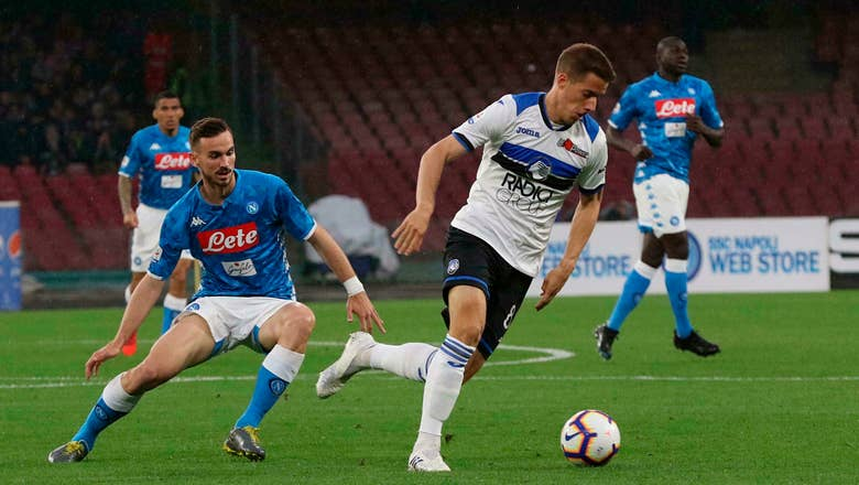 Atalanta into Champions League contention with win at Napoli