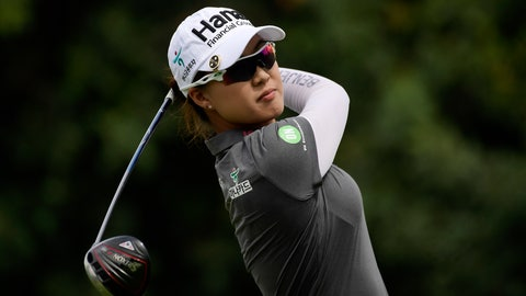 <p>               Minjee Lee, of Australia, tees off on the sixth hole during the final round of the Hugel-Air Premia LA Open golf tournament at Wilshire Country Club, Sunday, April 28, 2019, in Los Angeles. (AP Photo/Mark J. Terrill)             </p>