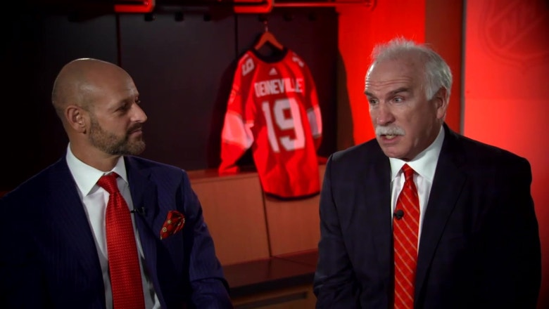 One on one with new Florida Panthers coach Joel Quenneville