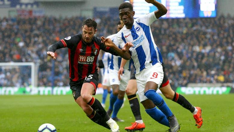 Bournemouth beats struggling Brighton 5-0 in Premier League