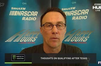 """Kevin Harvick on Texas qualifying: """"We proved 5 years ago that drafting won't work"""""""