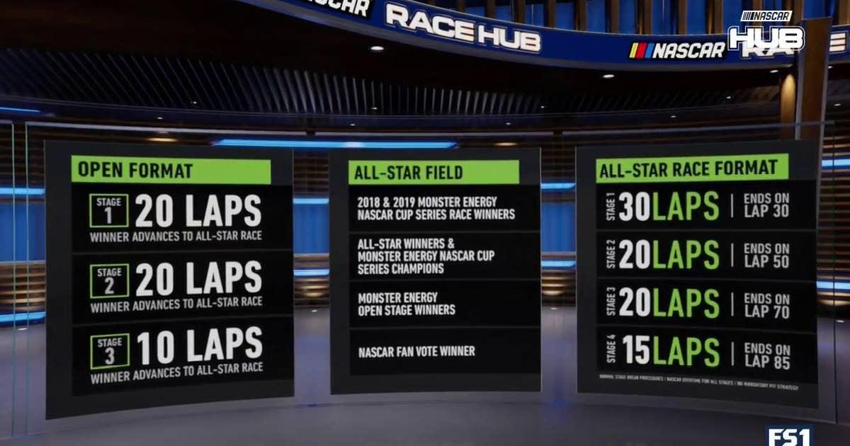 NASCAR Race Hub Exclusive: Format for the 2019 NASCAR All-Star Race