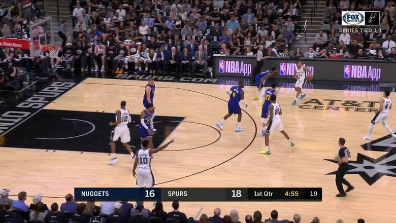 HIGHLIGHTS: Rudy Gay for Three in the 1st