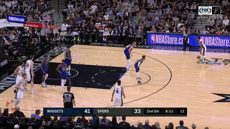 HIGHLIGHTS: Marco Belinelli hits the 3-Point Jumper