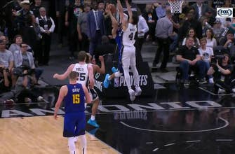 HIGHLIGHTS: Derrick White with the BLOCK leading to DeRozan Score