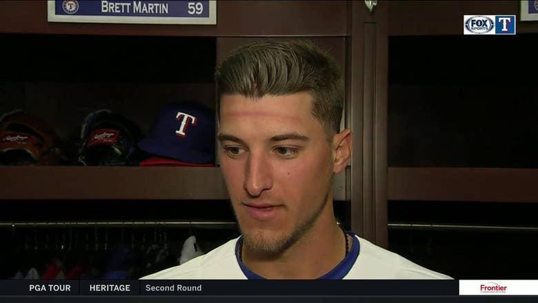 Brett Martin talks making his MLB Debut