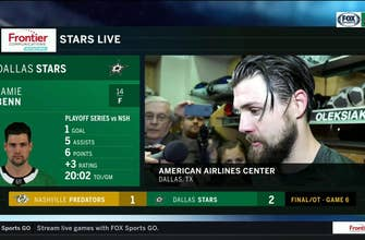 Jamie Benn: 'It was awesome to close it out at home' | Stars Live