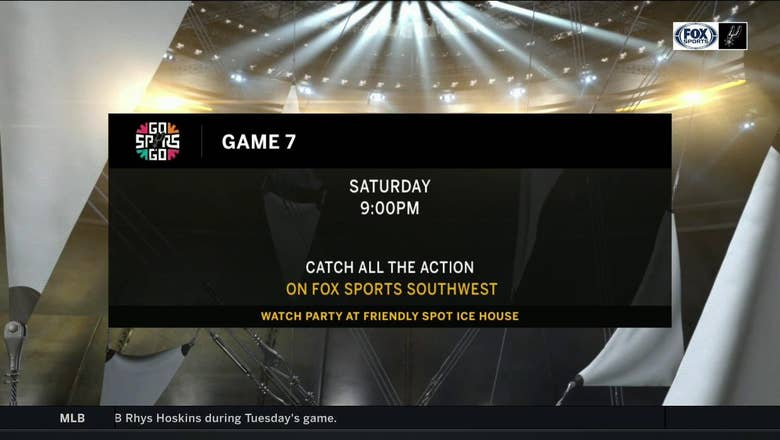 Game 7: WIN or GO HOME | Spurs Live