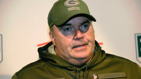 "<p>               FILE - In this Nov. 4, 2018, file photo, Green Bay Packers head coach Mike McCarthy speaks to the media following an NFL football game against the New England Patriots,in Foxborough, Mass. McCarthy says in a new interview that he was ""stunned"" at the timing of his firing and that his dismissal ""couldn't have been handled any worse."" McCarthy tells ESPN in a story published Wednesday, April 3, 2019, that he knew it might be time for him to go if the Packers missed the playoffs. (AP Photo/Steven Senne, File)             </p>"