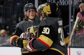 Marchessault's goal leads Golden Knights over Oilers 3-1