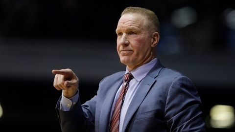 """<p>               FILE - In this Saturday, Jan. 19, 2019,file photo, St. John's head coach Chris Mullin in action during the first half of an NCAA basketball game against Butler in Indianapolis. Chris Mullin has """"stepped down"""" as basketball coach at St. John's. Athletic Mike Cragg director announced the decision, Tuesday, April 9, 2019 saying in a statement the team """"progressed well"""" during Mullin's four years. (AP Photo/Darron Cummings, File)             </p>"""
