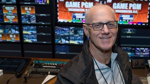 <p>               In this Thursday, March 28, 2019, photo, CBS director Bob Fishman poses in the production truck in Washington, D.C. Fishman is preparing to direct his 38th Final Four this week in Minneapolis. If anyone can speak about the growth of the NCAA Tournament on television it is Fishman. (AP Photo/Alex Brandon)             </p>