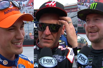 Kurt Busch, Clint Bowyer & Joey Logano comment on their days in Bristol